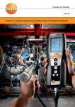 анализатор дымовых газов для измерения выбросов testo 340